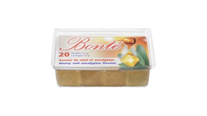 pastille au miel & eucalyptus